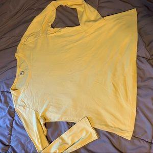 JCP jc penny xl yellow long sleeve sunny bright